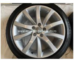 Roti Vara Noi cu Jante Originale Audi A4 B8.5 18 inch ET47 Barum 245/40 R18
