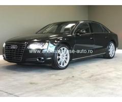 Dezmembrez Audi A8, an 2012, motorizare 4.2 TDI, Diesel, caroserie Limuzina